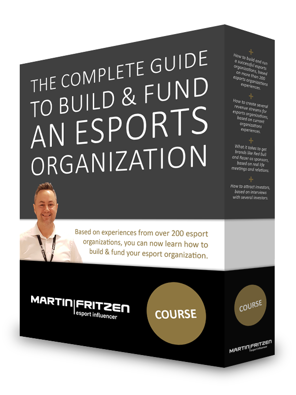 The complete guide to building & fund an esports organization.