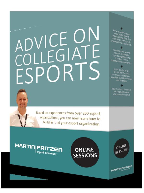 Advice on collegiate esports