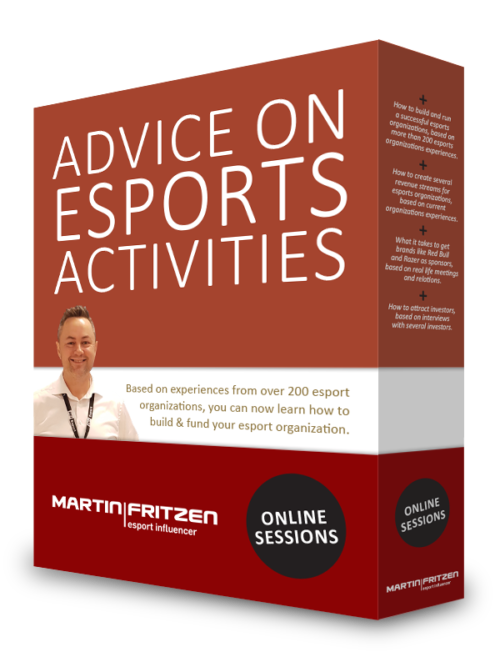 Advice on esports activities