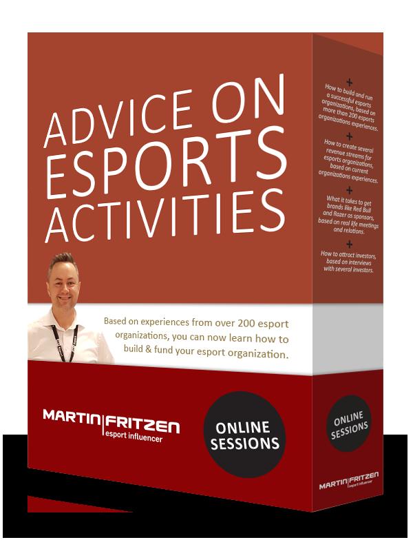 Advice on esports activities