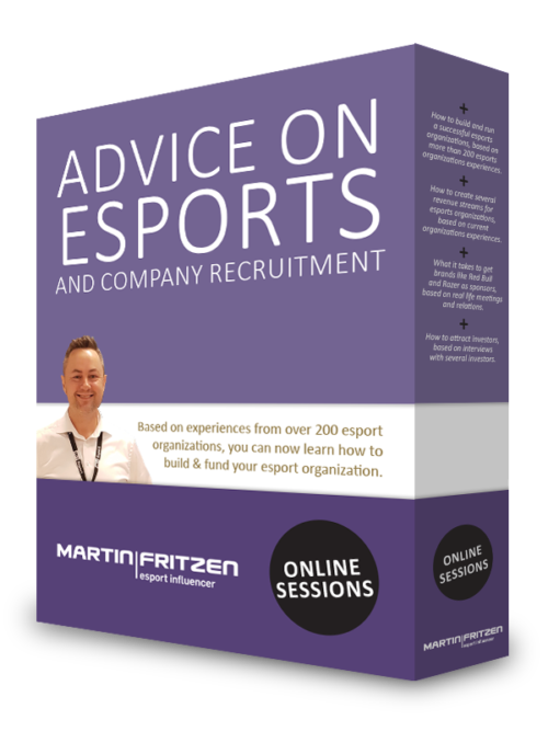 Advice on esports and company recruitment