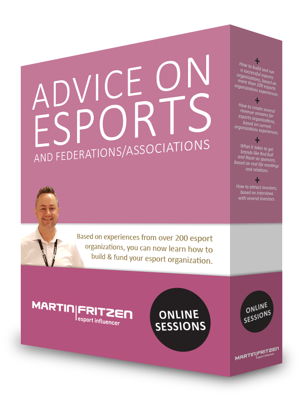 Advice on esports and federations / associations