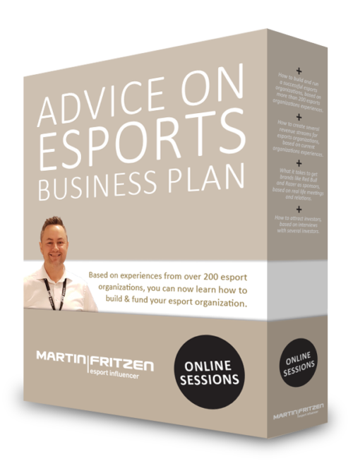 Advice on esports business plan