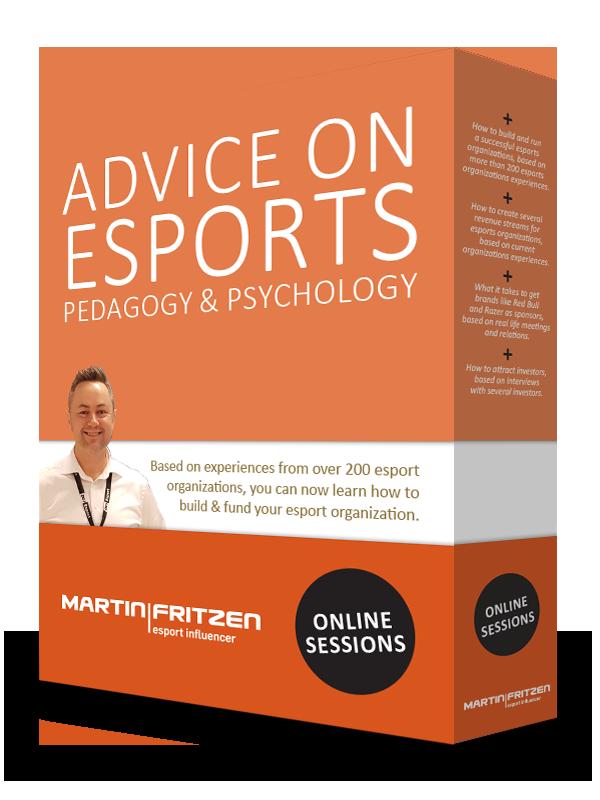 Advice on esports and pedagogy & psychology